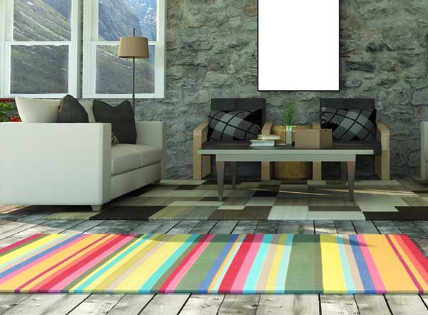 How-to-keep-area-rugs-from-slipping-on-hardwood-floors-Use-a-rug-pad