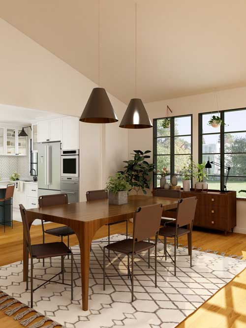 Pictures Of Rugs Under Dining Room Tables-2