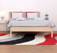 How To Place a Rug Under Bed Rules  Rug Underneath Bed Placement Ultimate Guide